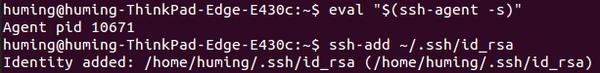 git-ssh 配置和使用