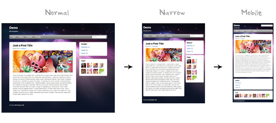 CSS3: Media Query实现响应式Web设计