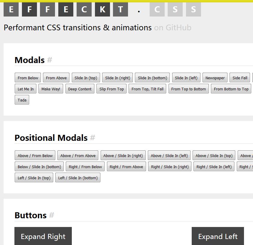 CSS3: 常用动画特效及4个最流行的动画库