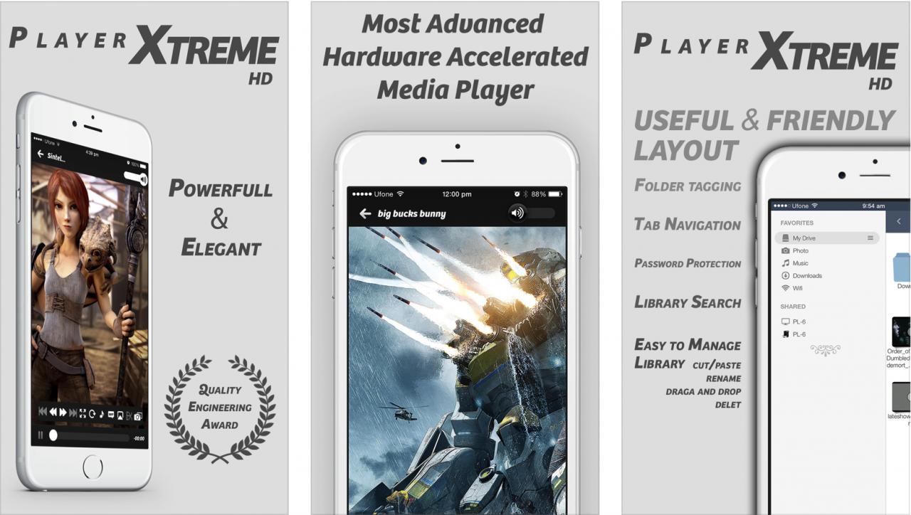 iPhone/iPad: 3套必装播放Apps, MKV播放器