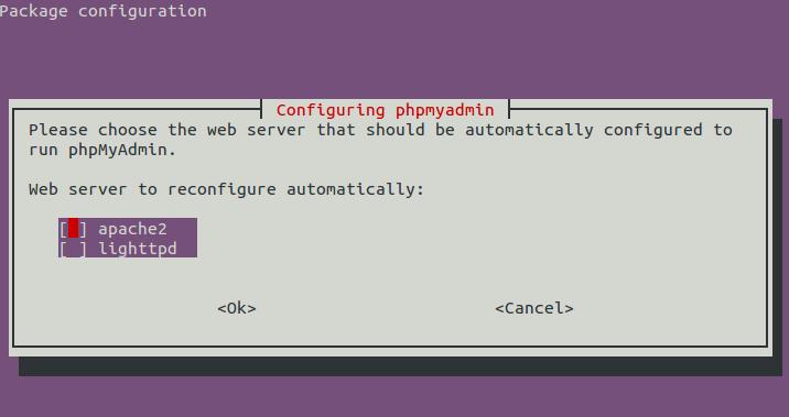 Linux: url打开phpmyadmin, how to access phpmyadmin in lamp