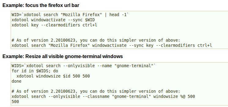 shell脚本:在Linux中模拟击键和鼠标移动, 键盘精灵, xdotool 模拟用户交互