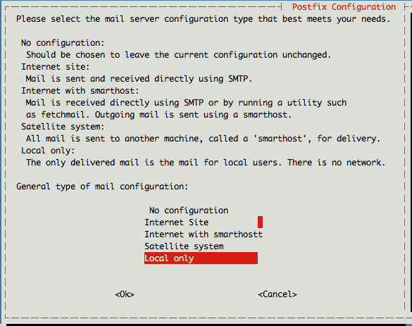 Linux: 搭建邮件服务器, 命令行发送邮件, sendgrid服务器搭建, Postfix服务器搭建