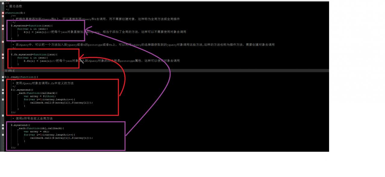 JavaScript面向对象详解四:JQuery插件