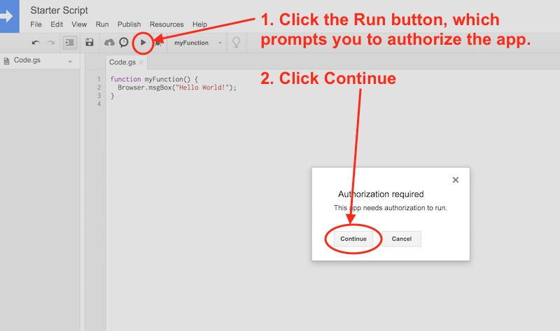 Google Apps Script 入门 Beginner guide to coding with Google Apps Script