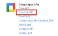 创建Google API Key, Creating a Google API Key