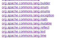 JAVA:Apache Commons工具集简介, BeanUtils, FileUpload, IO, Validator, Compress