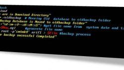 Linux: Shell脚本备份MySQL数据库, Linux shell script for database backup