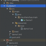 Java: maven下读取资源文件的问题, java路径