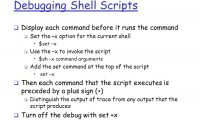 Shell: debug所有运行过程到log文件, Run a bash script in debug mode, show output and save it on a file