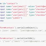 jquery.serializeJSON: 包含未勾选的checkboxes, Problem with checkbox checked,