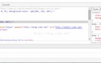 在浏览器控制台console运行javascript, console引入外部js文件, chrome浏览器调试,火狐浏览器调试