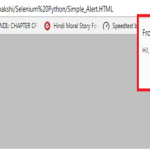 Python:在Selenium中处理警报alert和弹出框Popup, How to Handle Alert & Pop-up Boxes in Selenium Python