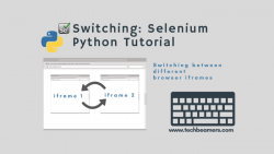 Python:如何使用Selenium在IFrame之间切换, Selenium获取IFrame, webdriver, How to Switch Between IFrames Using Selenium Python