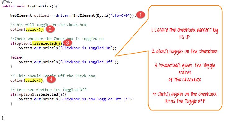 Python Selenium 选中 CheckBox 或者 Radio, Selenium 选中 单选框 或者 复选框, How to Select CheckBox and Radio Button in Selenium WebDriver