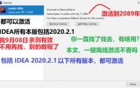 IntelliJ IDEA 2020.2 最新全家桶系列产品激活破解方法, JetBrains 全家桶激活