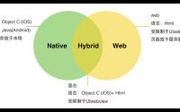 Web App、Hybrid App、 Native App的区别, 当前主流移动和应用程序类型
