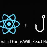 React Hooks钩子用法, 如何在受控表单组件上使用 React Hooks