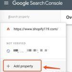 Shopify SEO:Shopify使用Google的站长工具, Shopify使用Google Search Console, 提交Shopify产品链接到Google Search Console
