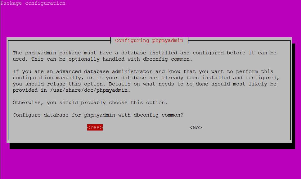 phpmyadmin-install2