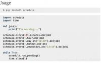 Python3 定时任务的四种实现方式, Python 定时任务, Python crontab, Python timer