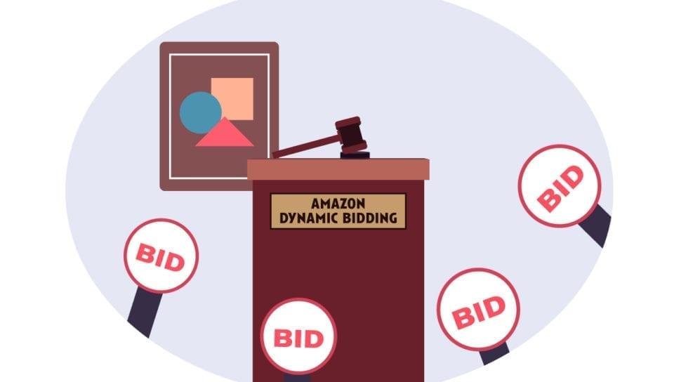 解读亚马逊动态竞价, 亚马逊动态出价, 动态竞价3种竞价策略, 2天内将点击率提高10倍!, Amazon Campaign bidding strategy, Dynamic bids or Fixed bids
