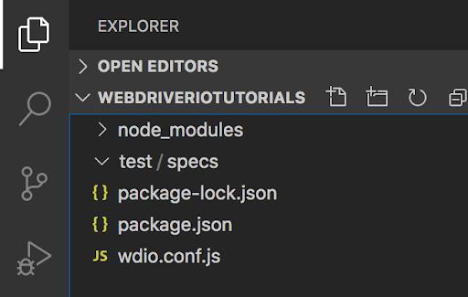 WebDriverIO 教程一:运行第一个自动化脚本, WebDriverIO 教程, WebDriverIO 入门