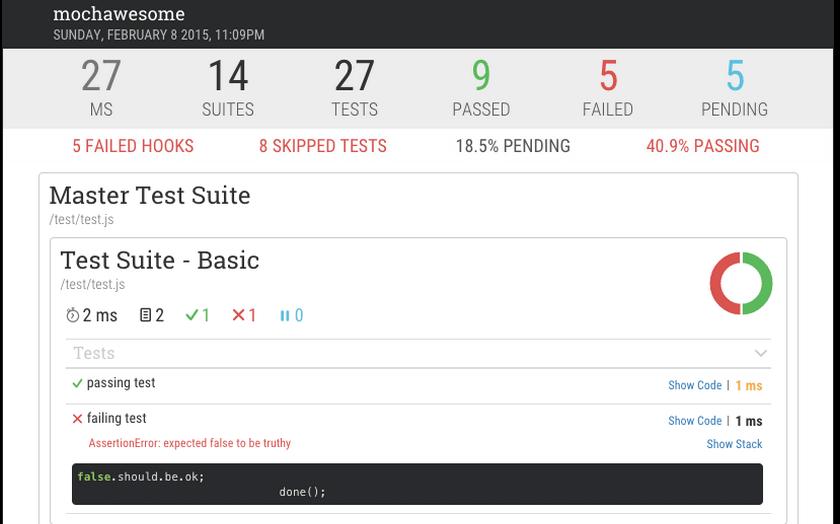 Node.js Mocha 入门教程, JavaScript 测试框架Mocha, 测试框架 Mocha 实例教程