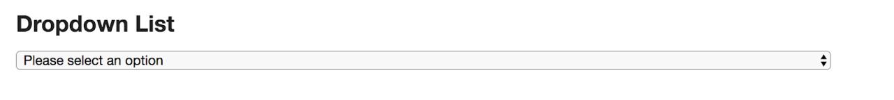 WebDriverIO 教程六:在 Selenium 中处理下拉列表, Handling Dropdown In Selenium, WebDriverIO 教程, WebDriverIO 入门